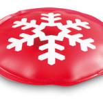 Vánoční hřejivý polštářek