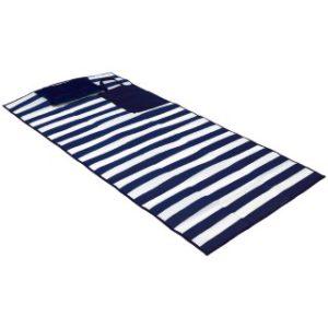 podložka na pláž s polštářem