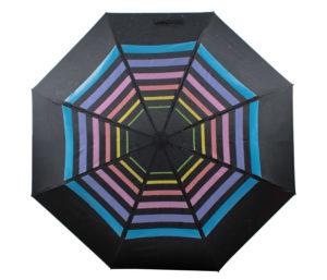 Deštník měnící svou barvu