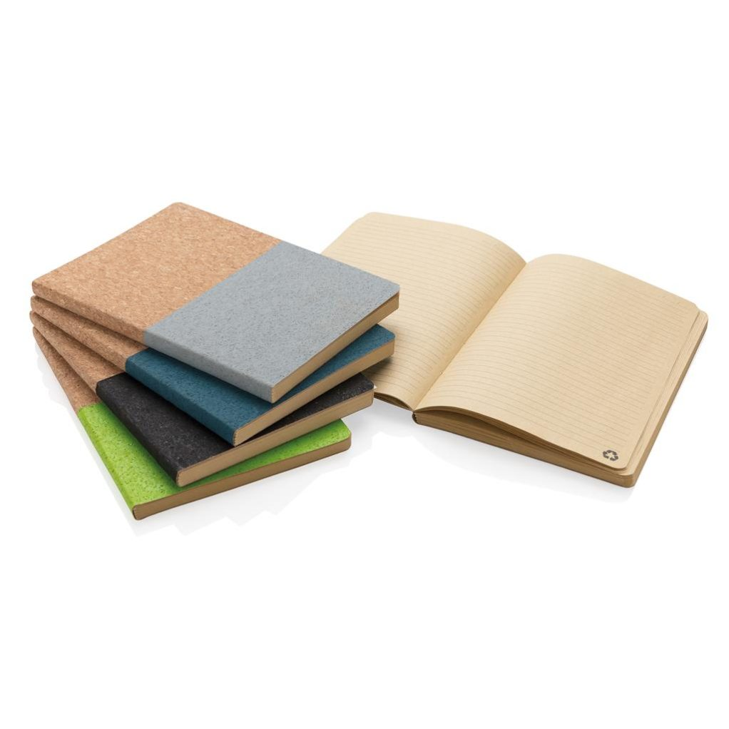 Ekologický korkový zápisník s možností potisku