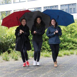 """23 """"reverzibilní deštník v 190T pongee tkanině s manuálním otevřením a zavíráním"""