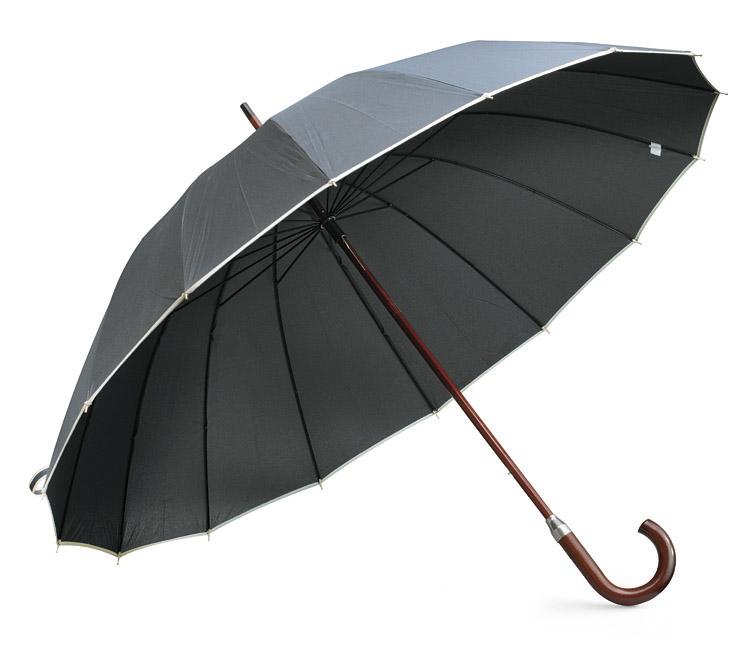 Deštník s 16 výsečemi