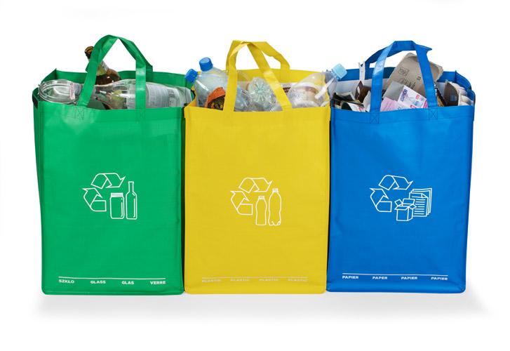 Tašky na třídění odpadů RECIDO