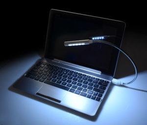 USB lampička