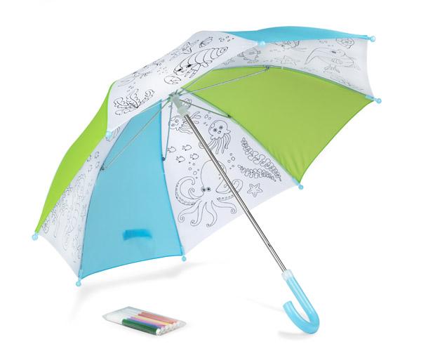 Omalovánkový deštník