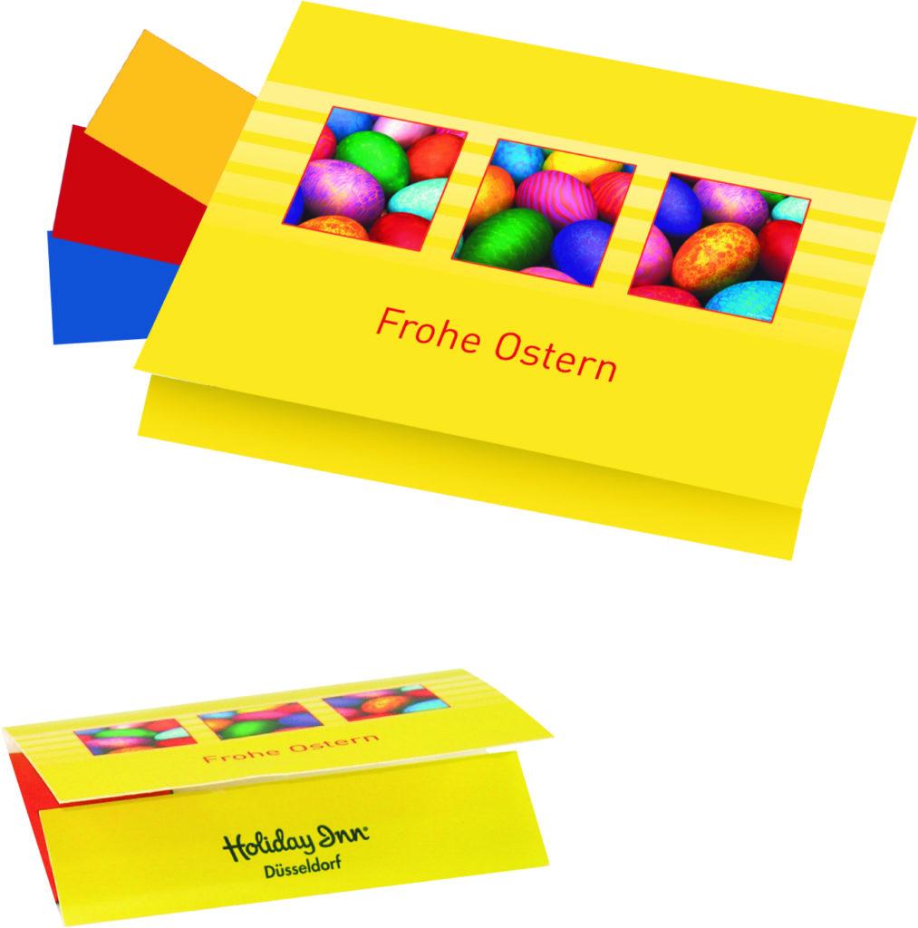 Kartičky na barvení vajíček