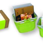 Košík v dárkové krabičce