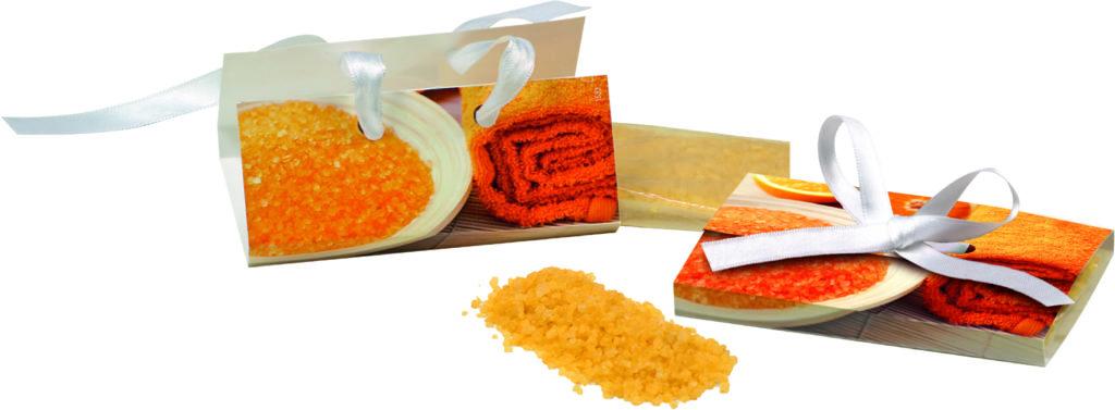Koupelová sůl s vůní pomeranče