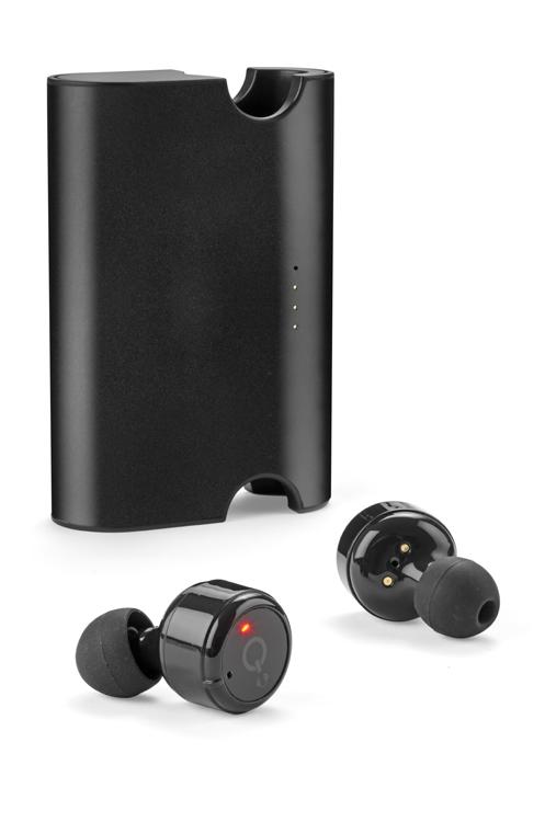 Bezdrátová sluchátka s power bankou DOOK 1500 mAh