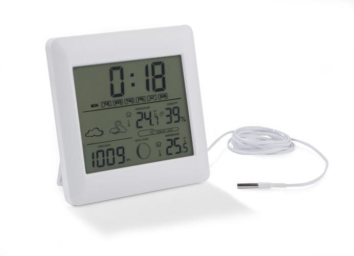 Meteostanice s měřením barometrického tlaku
