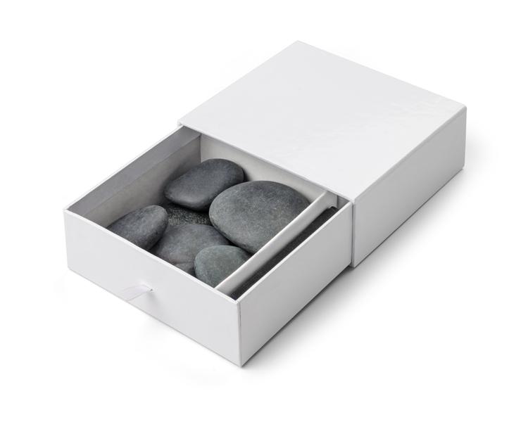 Sada lávových kamenů