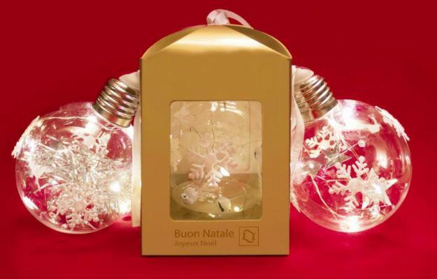 Svítící led ozdoba s vánoční tématikou