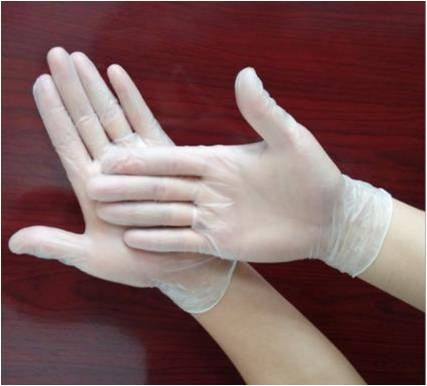 Jednorázové vinylové rukavice