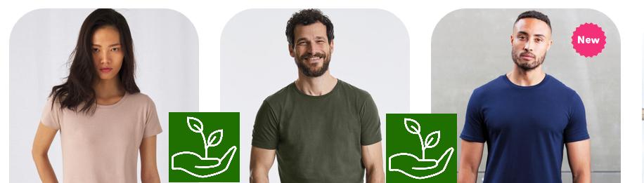 Bio/Eco/Organic bavlna - trička se spolehlivým certifikátem Global Organic Textile Standard