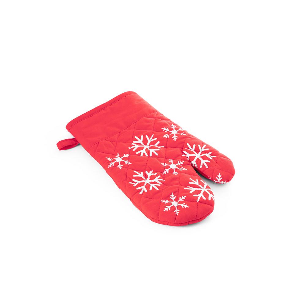 Kuchyňská rukavice s vánočním potiskem