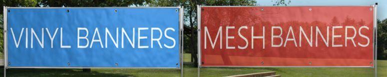 Mesh bannery pro venkovní reklamu