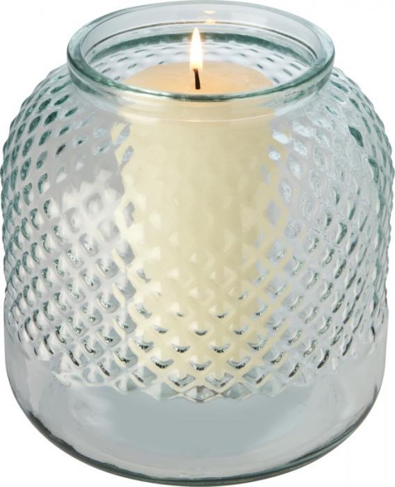 Svícen z recyklovaného skla Estar